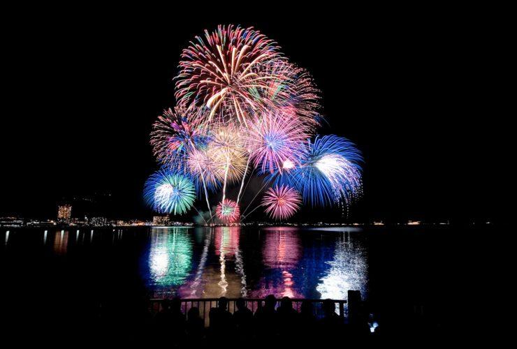 日本の打ち上げ花火