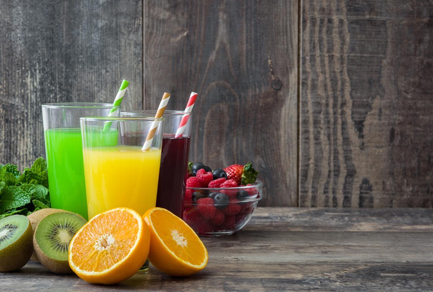 ダイエット中の果物ジュース
