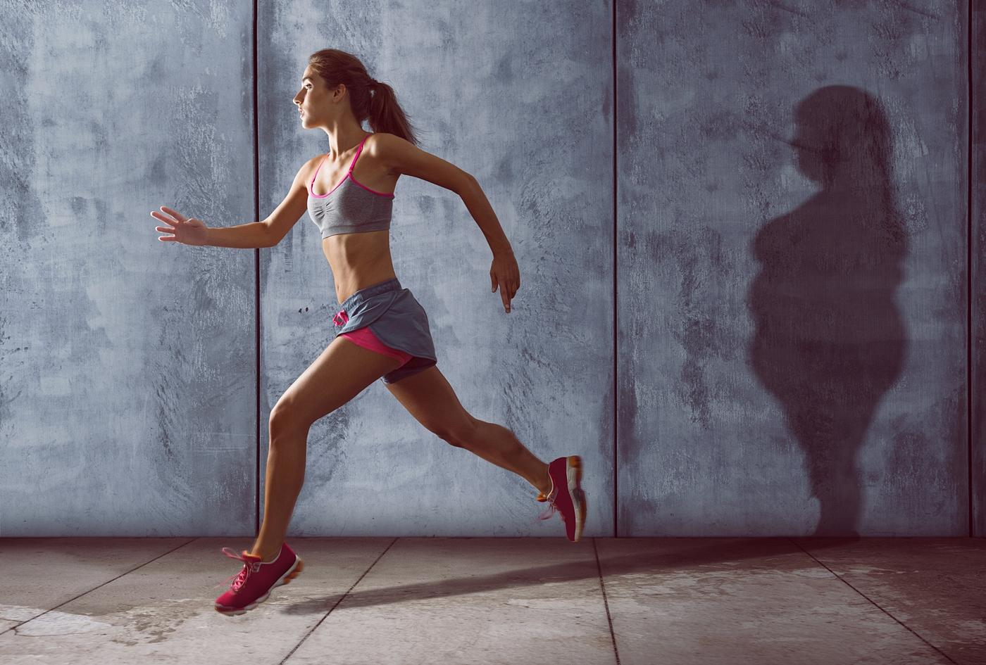 ダイエットで変化した女性の体形